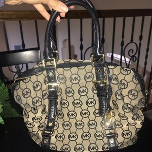 Michael Kors brown/black handbag